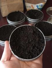 Coffee Sugar Scrub with Peppermint
